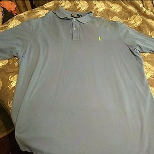 Men's 4XLT Polo by Ralph Lauren Dress Shirt